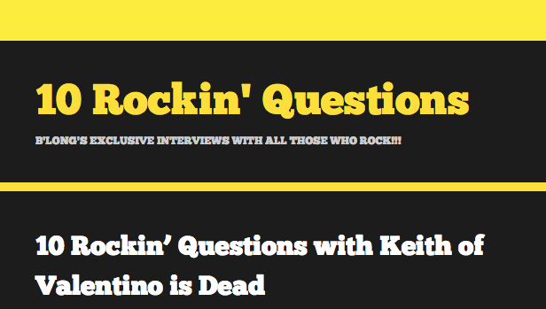 10 rocking questions