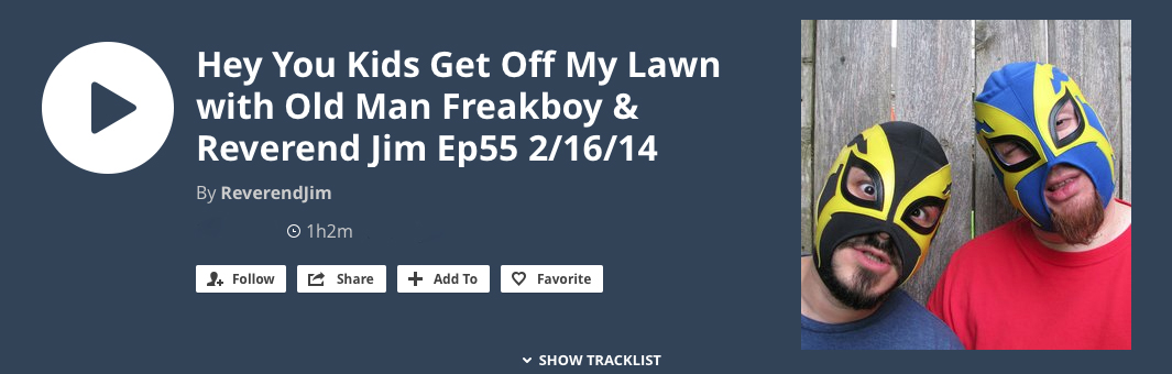 DJs Oldman Freakboy and Reverend Jim