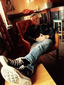 Punk Rock Power Nap! Pete Holidai - Up Your Anti (single launch) - Whelan's, Dublin, June 2015